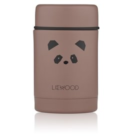 LIEWOOD Nadja Food Jar - Panda dark rose
