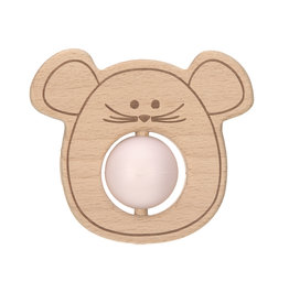 LÄSSIG  Teether Ball - Little Chums Mouse