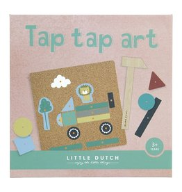 LITTLE DUTCH Hammerspiel - Tap Tap Art