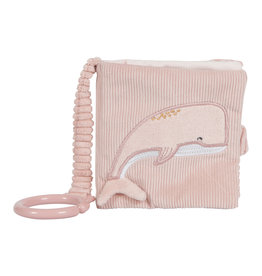 LITTLE DUTCH Buggy-Fühlbuch - Ocean pink