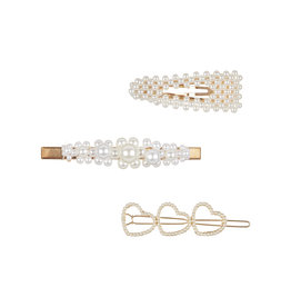 MIMI & LULA Haarspangen - Pearly Queen Clips PEARL