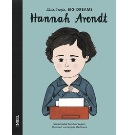 LITTLE PEOPLE - BIG DREAMS Hannah Arendt