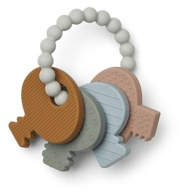 "LIEWOOD Beißspielzeug ""Kay"" key teether, Multi mix"