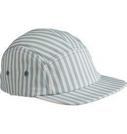"LIEWOOD Cap ""Rory"" Stripe Sea blue/white"