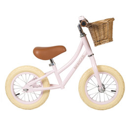 BANWOOD First GO! Balance Bike - Pink