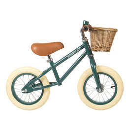 BANWOOD First GO! Balance Bike - Dark Green