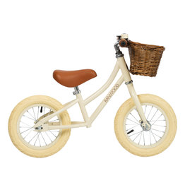 BANWOOD First GO! Balance Bike - Cream