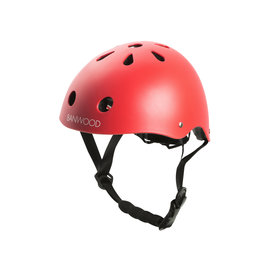 BANWOOD Helm - Red matt