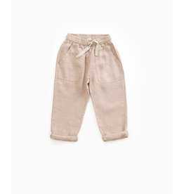 "PLAY UP Hose ""Linen Trousers"", jute"