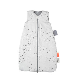 "DONE BY DEER Schlafsack ""Dreamy dots White"", weiß"