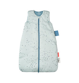 "DONE BY DEER Schlafsack ""Dreamy dots Blue"", hellblau"