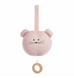 LÄSSIG  Spieluhr - Gestrickt -  Little Chums Mouse