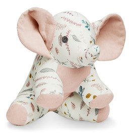 CAM CAM COPENHAGEN Kuscheltier Elefant 'Pressed Leaves Rose'