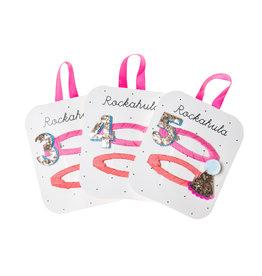 ROCKAHULA Haarspange - Geburtstag  'Zahl 3, 4, 5'