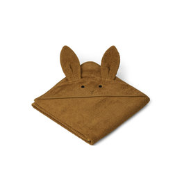 LIEWOOD Augusta Hooded Towel 'Rabbit' olive green
