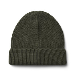 LIEWOOD Beanie Strick 'Ezra' Hunter Green
