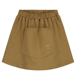 GRAY LABEL Rock 'Front Pocket Skirt' Peanut