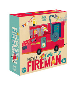 LONDJI Puzzle 'I want to be... Fireman'