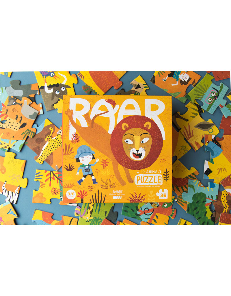 LONDJI Puzzle 'Roar'