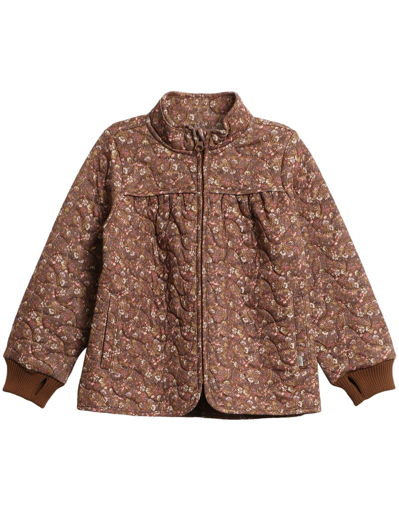 WHEAT Thermo Jacke 'Thilde' nutella flowers