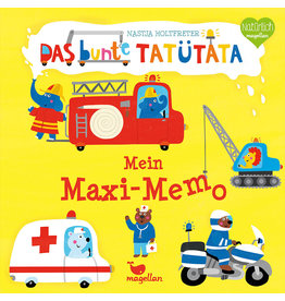 MAGELLAN Das bunte Tatütata - Mein Maxi-Memo