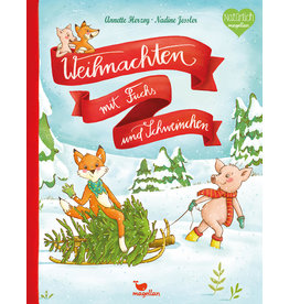 MAGELLAN Weihnachten mit Fuchs und Schweinchen