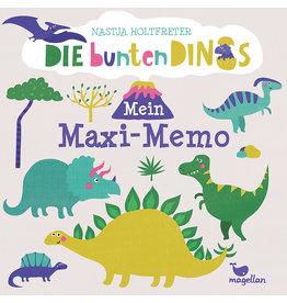 MAGELLAN Mein Maxi-Memo 'Die bunten Dinos '