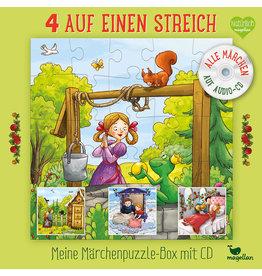 MAGELLAN Meine Märchenpuzzle-Box mit CD