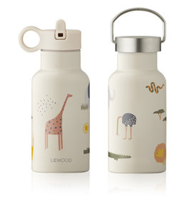 LIEWOOD Trinkflasche 'Anker' Safari sandy mix