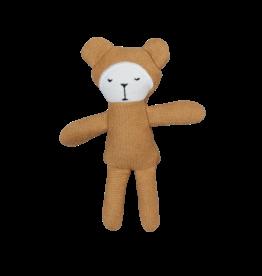 FABELAB Kleines Stofftier 'Pocket Friend' Bear ochre