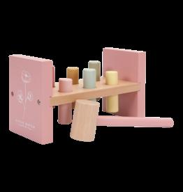 LITTLE DUTCH Hammerbank 'Wild Flowers' Pink