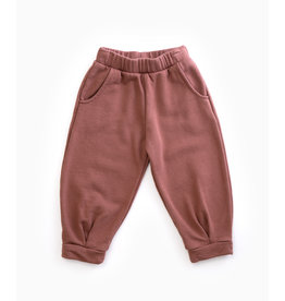 PLAY UP Hose 'Fleece Trousers' PURPLEWOOD