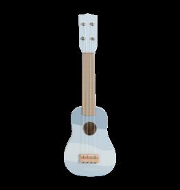 LITTLE DUTCH Kinder Gitarre Holz 'Blau'