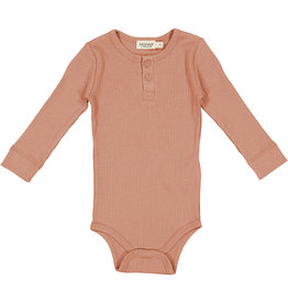 MARMAR COPENHAGEN Langarm-Body 'Rose Brown'