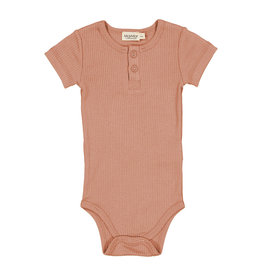 MARMAR COPENHAGEN Kurzarm-Body 'Rose Brown'