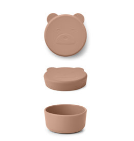 LIEWOOD Snack Box 'Carrie' Mr bear tuscany rose