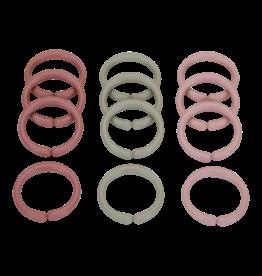 LITTLE DUTCH Spielringe 'Little Loops' rosa