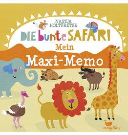 MAGELLAN Mein Maxi-Memo 'Die bunte Safari'