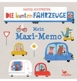 MAGELLAN Mein Maxi-Memo 'Die bunten Fahrzeuge'
