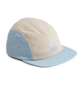 LIEWOOD Cap 'Rory' Seaside sky blue mix