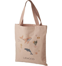LIEWOOD Tragetasche 'Tote Bag small' Sea creature rose mix