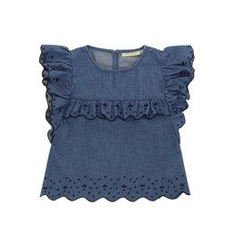 Soft Gallery T-Shirt 'Florin' Denim Blue