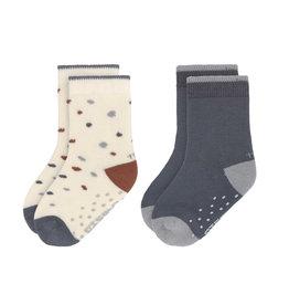 LÄSSIG  Antirutsch-Socken 'Tiny Farmer Blue'