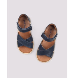 Petit Nord Sandalen 'Cross-over Sandal' Navy