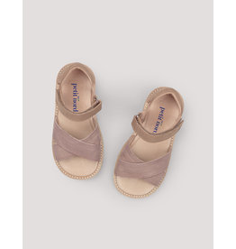 Petit Nord Sandalen 'Cross-over Sandal' Old rose