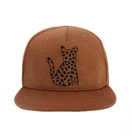 VANPAULINE Cap 'Leopard Spots' Caramel