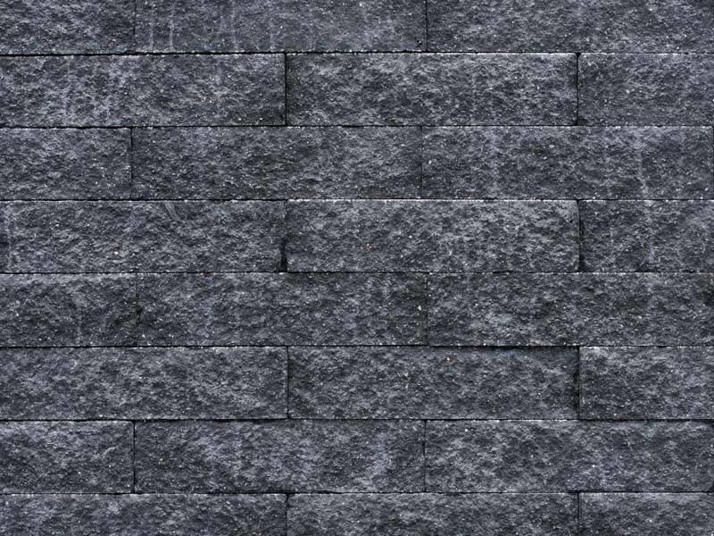 Wallblock Splitt Anthrazit 40x10x10