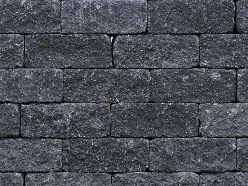 Wallblock Tumbled Anthrazit 30x12x12