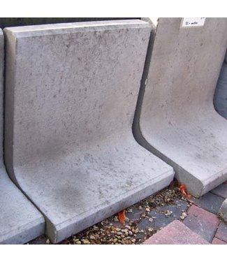 L Steine Grau 80x50x7 cm