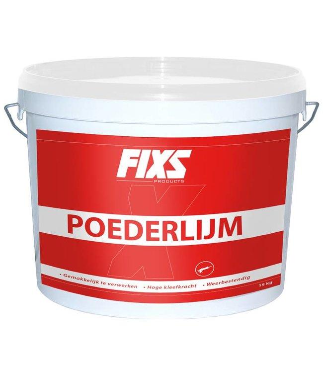 Fixs Steinkleber (Pulverleim) 15kg Eimer